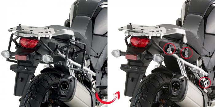 Suport Side Case Monokey Suzuki DL 1000 V-Strom (14>15) PLR3105 [0]