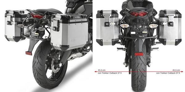 Suport Side Case MONOKEY Suzuki DL650 VSTROM [0]