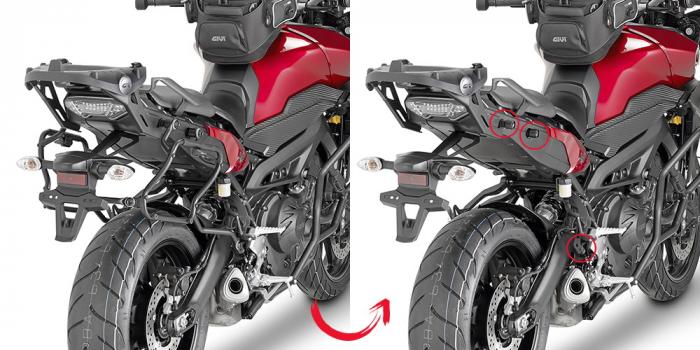 Suport Side Case MONOKEY Yamaha MT-09 TRACER PLXR2122 [0]