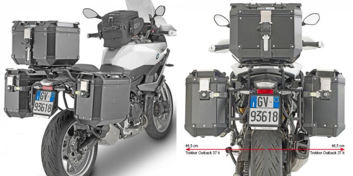 Suport Side Case PL ONE-FIT penru Valize laterale Trekker Outback BMW F 900 XR (20) [0]