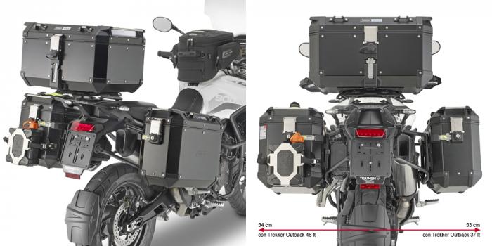 Suport Side Case PL ONE-FIT penru Valize laterale Trekker Outback Triumph Tiger 900 (20) [0]