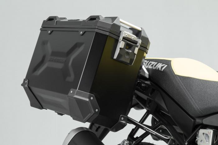 Suport Side Case PRO negru. Suzuki V-Strom 1000 (14-19). [5]
