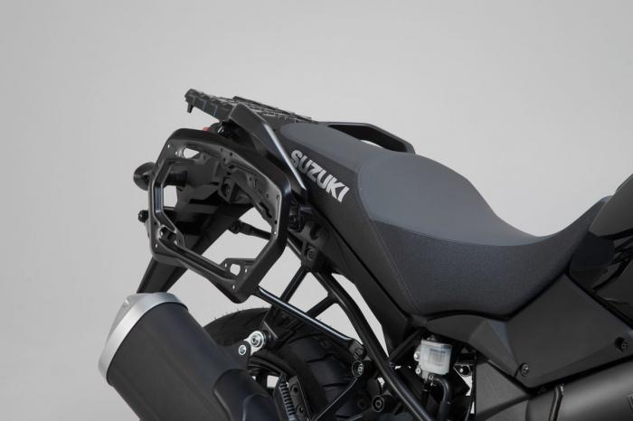 Suport Side Case PRO negru. Suzuki V-Strom 1000 (14-19). [1]