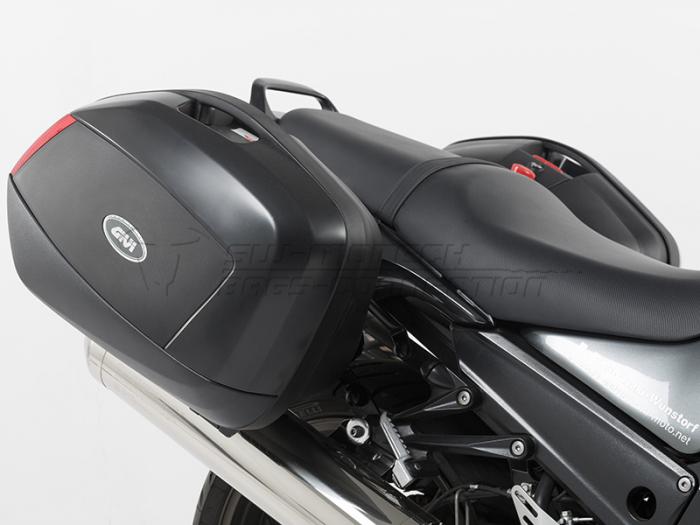 Suport Side Case Quick-Lock Evo Pentru genti Givi/Kappa prindere Monokey Kawasaki ZZR 1400 2006-2007 [0]