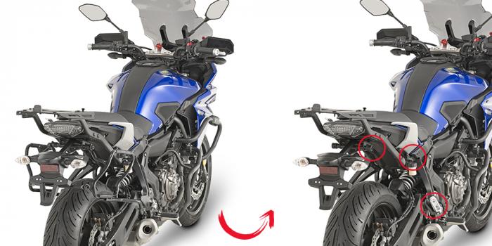Suport Side Case V35 Yamaha MT-07 Tracer [0]