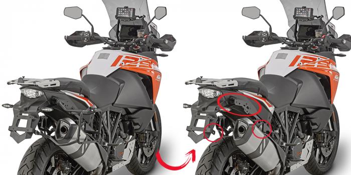 Suport sidecase cu montare/demontare rapida pentru KTM Super Adventure S (17) [0]