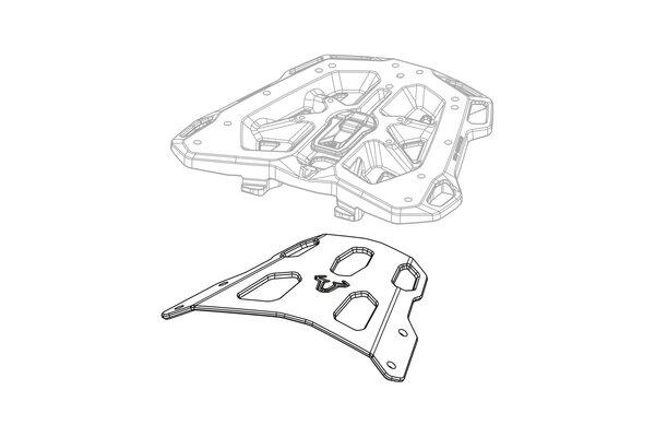 Suport STREET-RACK Negru Yamaha XJR 1200/1300 (06-) [1]