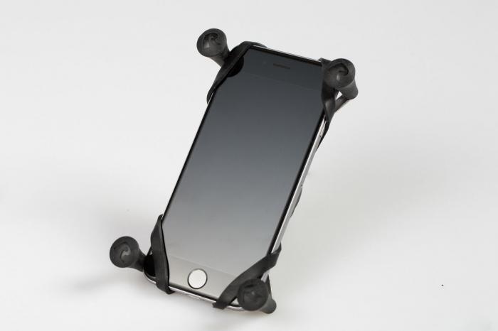 Suport telefon universal RAM X-Grip IV pentru dispozitive cu latime 4.4-11.4 cm include sfera Ram-Arm 1
