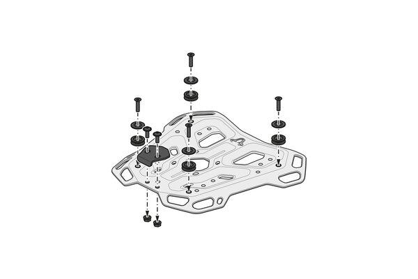 Suport Top Case Adventure-Rack Negru Yamaha Tracer 9 (20-) [3]