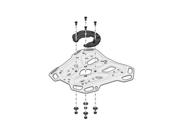 Suport Top Case Adventure-Rack Negru Yamaha Tracer 9 (20-) [7]