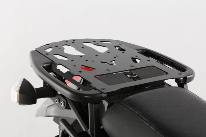 Suport Top Case Steel-Rack negru Kawasaki KLR 650 (08-). 0
