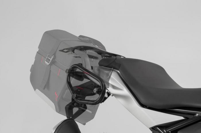 Genti laterale SysBag 15/10 cu sistem fixare pentru Ducati Monster 821 (14-17) / 1200 (14-16). 1