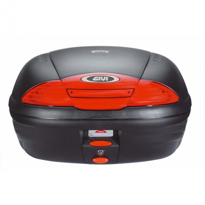 Top Case E450 Monolock Simply Negru 0