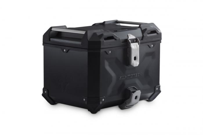 Top Case TRAX ADVENTURE aluminiu 38 L. Negru 0
