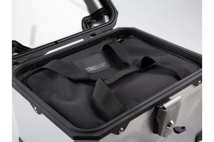 Top Case TRAX ADVENTURE aluminiu 38 L. Negru 2