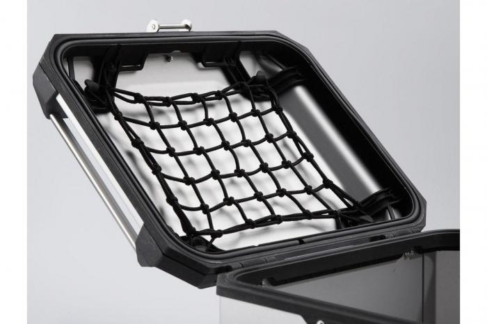 Top Case TRAX ADVENTURE aluminiu 38 L. Negru 3