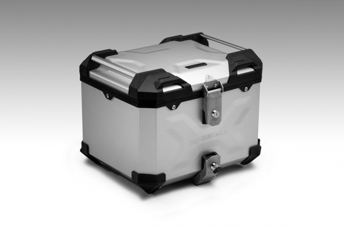 Trax Adv Topcase System. Argintiu Ducati Multistrada 1200/S, Hyperstrada 3