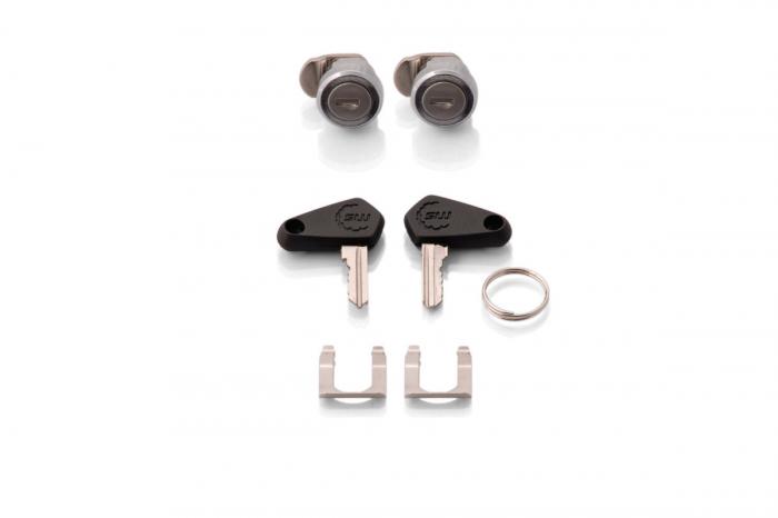 Trax Adv Topcase System. Argintiu Honda NC700 S/X (11-) NC750 S/X (14-15) 4
