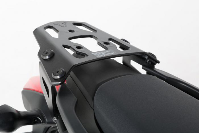 Trax Adv Topcase System. Argintiu Honda NC700 S/X (11-) NC750 S/X (14-15) 1