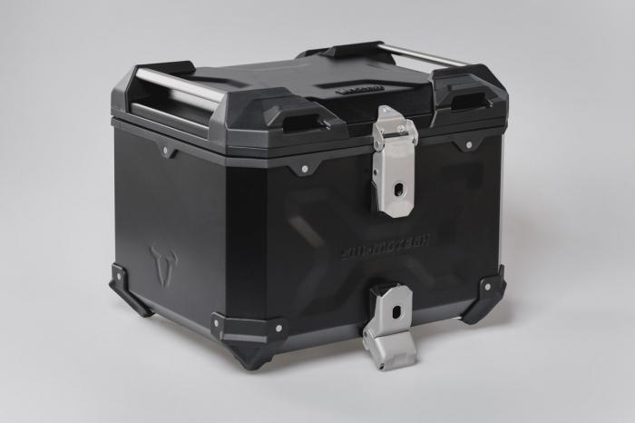 Trax Adv Topcase System. Negru Ducati Multistrada 1200/S, Hyperstrada 3