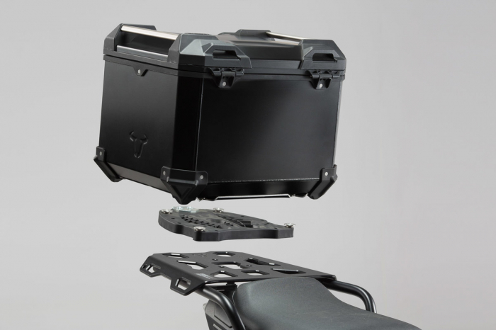 Trax Adv Topcase System. Negru Ducati Multistrada 1200/S, Hyperstrada 0