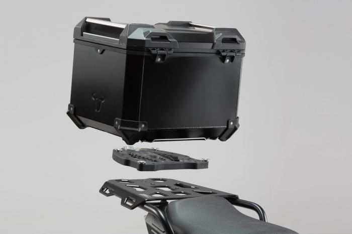 Trax Adv Topcase System. Negru Triumph Sprint ST 1050 / Tiger 1050 SE 0