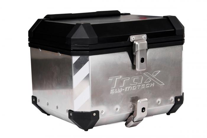 TraxEvo reflective sticker set Pentru 2 TraxEvo side cases or 1 top case. Reflective. Argintiu 1