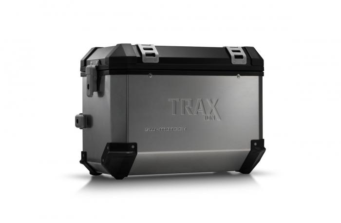 Trax Ion L Side case. Aluminium. 45 l. dreapta. argintiu 0