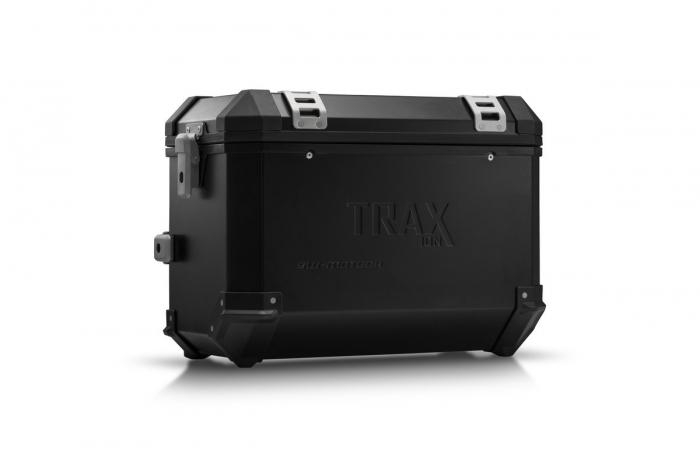 Trax Ion L Side case. Aluminium. 45 l. dreapta. negru 0