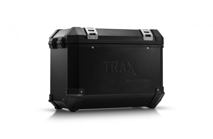 Trax Ion L Side case. Aluminium. 45 l. stanga. negru 0