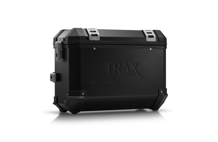 Trax Ion M Side case. Aluminium. 37 l. dreapta. negru 0