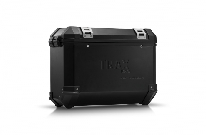 Trax Ion M Side case. Aluminium. 37 l. stanga. negru 0