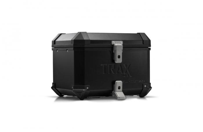 Trax Ion top case Aluminium. 38 l. Negru [0]