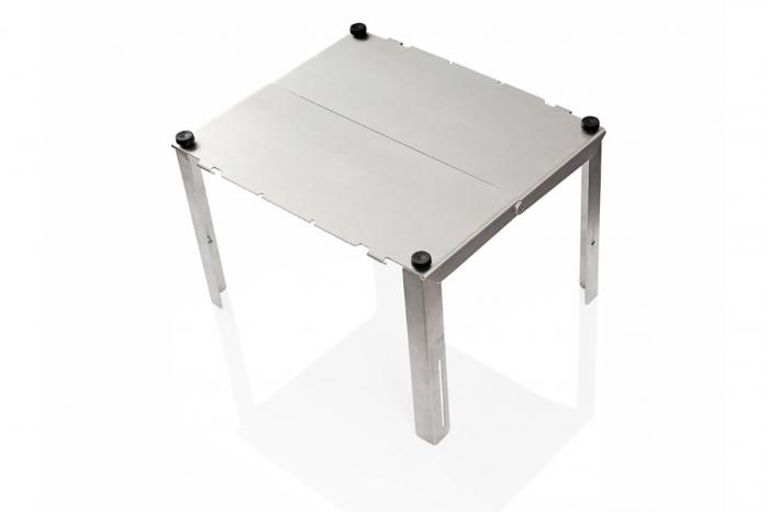 TraX Table Argintiu Aluminium. 2 blaturi de masa. Pentru TraX L / M. 2
