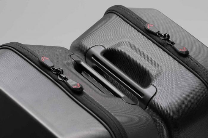 Urban ABS side case stanga 16 l. ABS plastics. pentru SLC side carrier stanga. 2