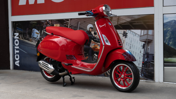 Vespa Primavera 50 (RED)®  Euro5 - PROMOTIE [5]