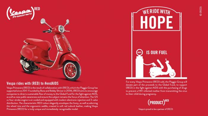 Vespa Primavera 50 (RED)®  Euro5 - PROMOTIE [2]
