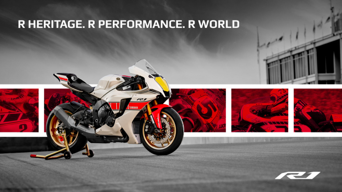 Yamaha R1 World GP 60th Anniversary [1]