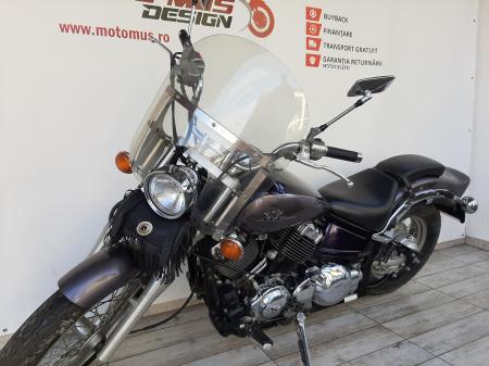 Motocicleta Yamaha DragStar 650cc 39CP-Y48228 se poate conduce cu A26