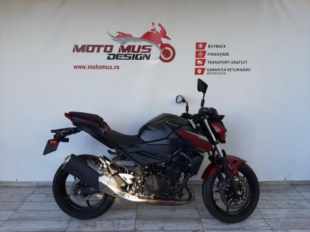 Motocicleta Kawasaki Z400 ABS 400cc 44CP-K3481 se poate conduce cu A20