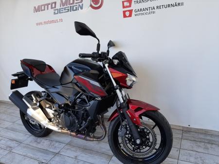 Motocicleta Kawasaki Z400 ABS 400cc 44CP-K3481 se poate conduce cu A24