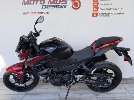 Motocicleta Kawasaki Z400 ABS 400cc 44CP-K3481 se poate conduce cu A25