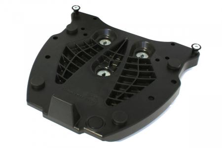 Adaptor placa Top Case GIVI/KAPPA Monolock.Fiber reinforced nylon. Negru [0]