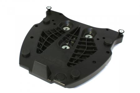 Adaptor placa Top Case KRAUSER. Fiber reinforced nylon. Negru0