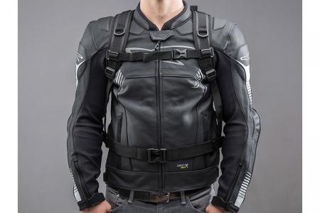Backpack Baracuda Tarpaulin. Impermeabil. Gri/Negru 25 l.3