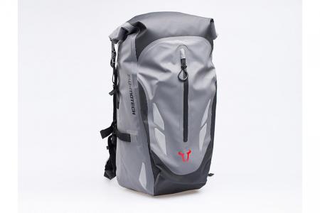 Backpack Baracuda Tarpaulin. Impermeabil. Gri/Negru 25 l.0