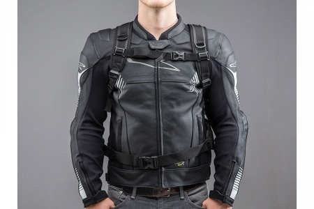 Backpack Triton Tarpaulin. Impermeabil. Gri/Negru 20 l.3