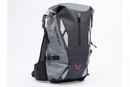 Backpack Triton Tarpaulin. Impermeabil. Gri/Negru 20 l.0