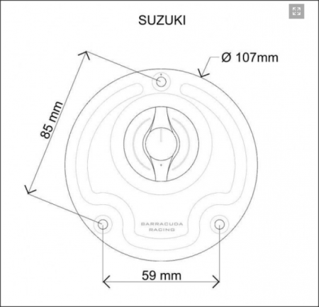 Capac rezervor combustibil SUZUKI1