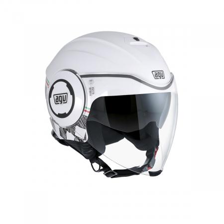 Casca AGV FLUID E2205 MULTI - GARDA WHITE/ITALY0